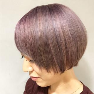 秋 ストリート ハイトーン 透明感 ヘアスタイルや髪型の写真・画像