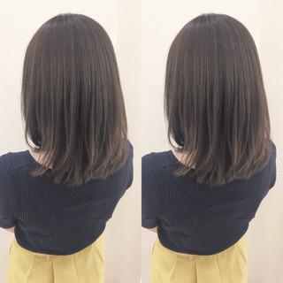 フェミニン 秋 外国人風 ミディアム ヘアスタイルや髪型の写真・画像