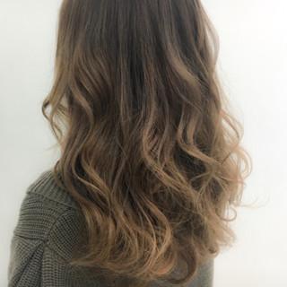 ロング 外国人風 ハイライト 秋 ヘアスタイルや髪型の写真・画像
