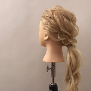 エレガント デート ロング 結婚式 ヘアスタイルや髪型の写真・画像