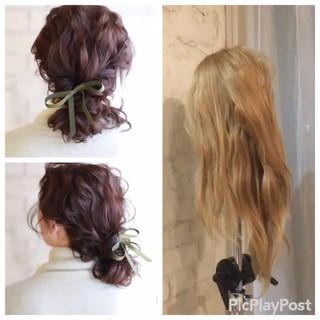 ヘアアレンジ パーティ ショート 簡単ヘアアレンジ ヘアスタイルや髪型の写真・画像