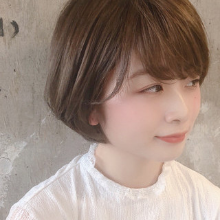 アウトドア デート ショート 成人式 ヘアスタイルや髪型の写真・画像