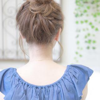 涼しげ ゆるふわ 色気 フェミニン ヘアスタイルや髪型の写真・画像