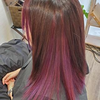 縮毛矯正ストカール 艶髪 ガーリー 縮毛矯正名古屋市 ヘアスタイルや髪型の写真・画像