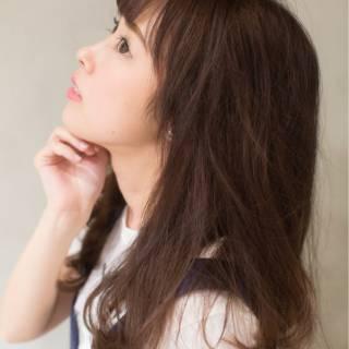 秋 ガーリー かわいい ナチュラル ヘアスタイルや髪型の写真・画像