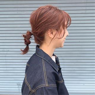 ヘアアレンジ 簡単ヘアアレンジ ロブ ラーメンマンヘア ヘアスタイルや髪型の写真・画像