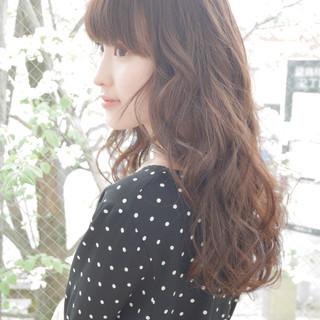 フェミニン ウェーブ ゆるふわ 簡単ヘアアレンジ ヘアスタイルや髪型の写真・画像