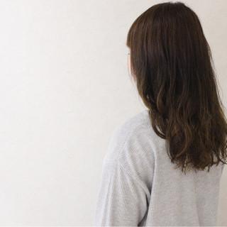 大人かわいい ゆるふわ ナチュラル アンニュイ ヘアスタイルや髪型の写真・画像