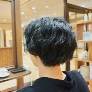 メンズ ショート メンズカラー ショートヘア ヘアスタイルや髪型の写真・画像