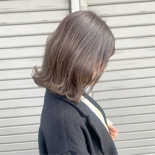 ヘアアレンジ 透明感 透明感カラー ガーリー ヘアスタイルや髪型の写真・画像