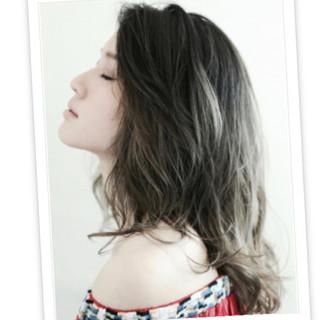 外国人風 小顔 大人女子 色気 ヘアスタイルや髪型の写真・画像