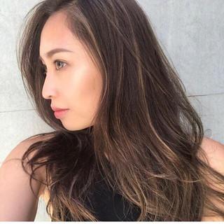 ロング ストリート ヘアスタイルや髪型の写真・画像 ヘアスタイルや髪型の写真・画像