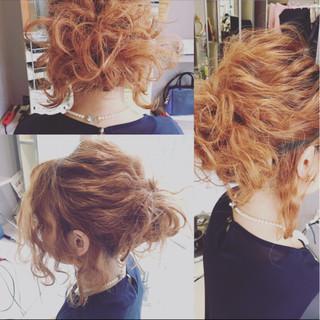 ボブ ヘアアレンジ 簡単ヘアアレンジ ショート ヘアスタイルや髪型の写真・画像 ヘアスタイルや髪型の写真・画像
