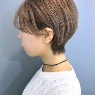 大人かわいい 簡単スタイリング ショート アイロンワーク ヘアスタイルや髪型の写真・画像