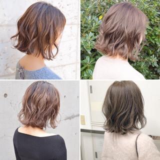ヘアアレンジ アンニュイほつれヘア ボブ 簡単ヘアアレンジ ヘアスタイルや髪型の写真・画像