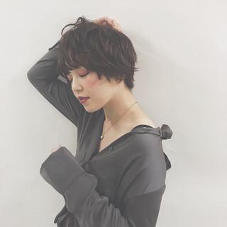エレガント 夏 春 暗髪 ヘアスタイルや髪型の写真・画像