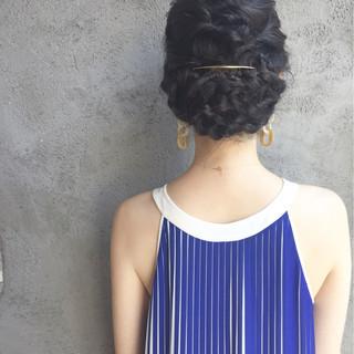 大人女子 ヘアアレンジ エレガント 結婚式 ヘアスタイルや髪型の写真・画像