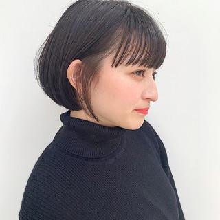 透明感カラー ナチュラル カジュアル 大人カジュアル ヘアスタイルや髪型の写真・画像