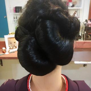 アップスタイル 成人式 ヘアアレンジ 振袖 ヘアスタイルや髪型の写真・画像