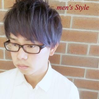 暗髪 ショート ハイライト モード ヘアスタイルや髪型の写真・画像 ヘアスタイルや髪型の写真・画像