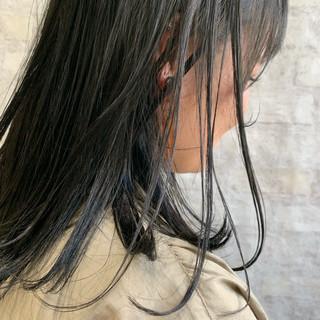 黒髪 ナチュラル ワンカールスタイリング ボブ ヘアスタイルや髪型の写真・画像 ヘアスタイルや髪型の写真・画像