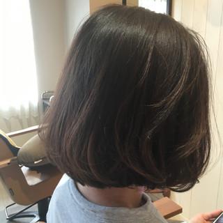 外国人風 アッシュ ボブ 大人かわいい ヘアスタイルや髪型の写真・画像