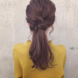 ナチュラル 簡単ヘアアレンジ ロング 表参道 ヘアスタイルや髪型の写真・画像