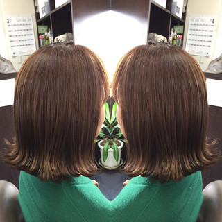 ナチュラル フェミニン 色気 ボブ ヘアスタイルや髪型の写真・画像 ヘアスタイルや髪型の写真・画像