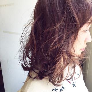 ラベンダーアッシュ ラベンダーピンク ピンク ベリーピンク ヘアスタイルや髪型の写真・画像