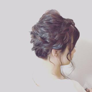 お祭り 夏 和装 アップスタイル ヘアスタイルや髪型の写真・画像