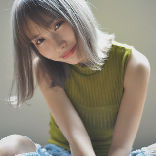 外国人風 アッシュ グラデーションカラー ストリート ヘアスタイルや髪型の写真・画像 ヘアスタイルや髪型の写真・画像