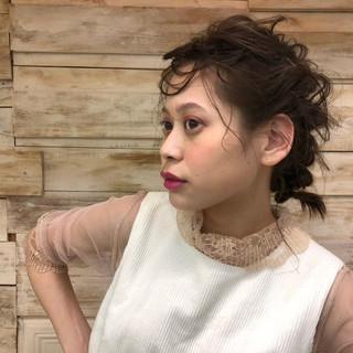 加藤 理歩さんのヘアスナップ