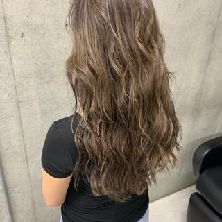 大人ハイライト ナチュラル ローライト 3Dハイライト ヘアスタイルや髪型の写真・画像