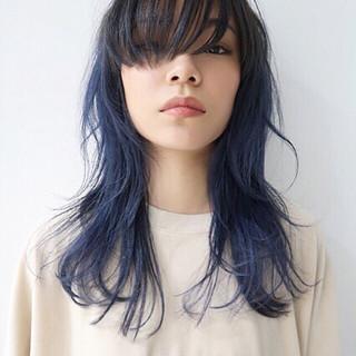 ストリート アッシュ セミロング 外国人風カラー ヘアスタイルや髪型の写真・画像 ヘアスタイルや髪型の写真・画像