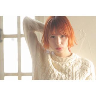簡単ヘアアレンジ 前髪あり レイヤーカット ボブ ヘアスタイルや髪型の写真・画像 ヘアスタイルや髪型の写真・画像