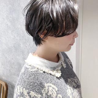ショートボブ マッシュショート 縮毛矯正 ショート ヘアスタイルや髪型の写真・画像 | 本田 重人 / maltu銀座