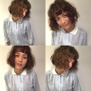 ナチュラル ゆるふわ ピュア ボブ ヘアスタイルや髪型の写真・画像
