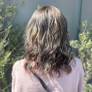 ゆるふわ ウェーブ 透明感 エフォートレス ヘアスタイルや髪型の写真・画像