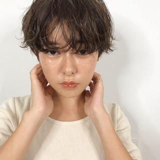 ヘアアレンジ デート ナチュラル ショート ヘアスタイルや髪型の写真・画像
