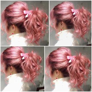 ハイライト 外国人風 ショート ヘアアレンジ ヘアスタイルや髪型の写真・画像
