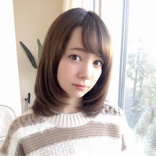 色気 ボブ ミディアム 大人女子 ヘアスタイルや髪型の写真・画像