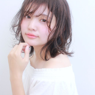 かわいい モテ髪 ミディアム 簡単ヘアアレンジ ヘアスタイルや髪型の写真・画像