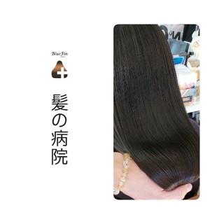 髪の病院 ナチュラル 名古屋市守山区 トリートメント ヘアスタイルや髪型の写真・画像