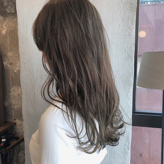 オフィス デート 透明感 外国人風カラー ヘアスタイルや髪型の写真・画像