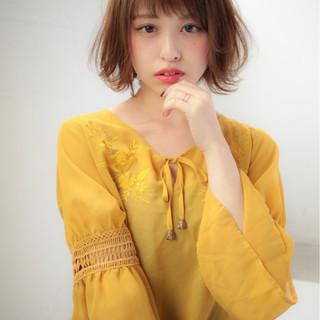 ショート フェミニン 大人かわいい デート ヘアスタイルや髪型の写真・画像
