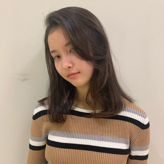 かわいい 巻き髪 黒髪 パーマ ヘアスタイルや髪型の写真・画像