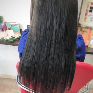 黒髪 上品 エクステ エレガント ヘアスタイルや髪型の写真・画像 ヘアスタイルや髪型の写真・画像