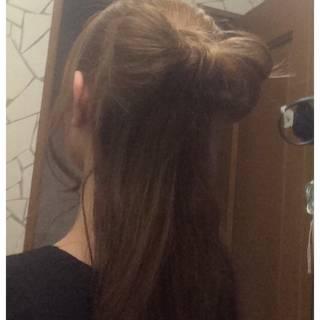 ヘアアレンジ ロング セルフヘアアレンジ ヘアスタイルや髪型の写真・画像