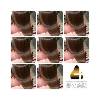 髪の病院 ナチュラル 名古屋市守山区 セミロング ヘアスタイルや髪型の写真・画像