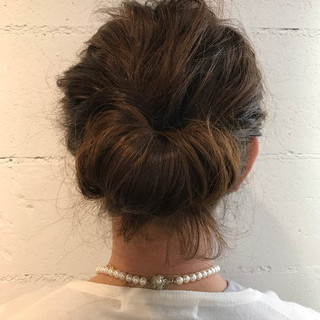 無造作 ミディアム ショート ヘアアレンジ ヘアスタイルや髪型の写真・画像 ヘアスタイルや髪型の写真・画像